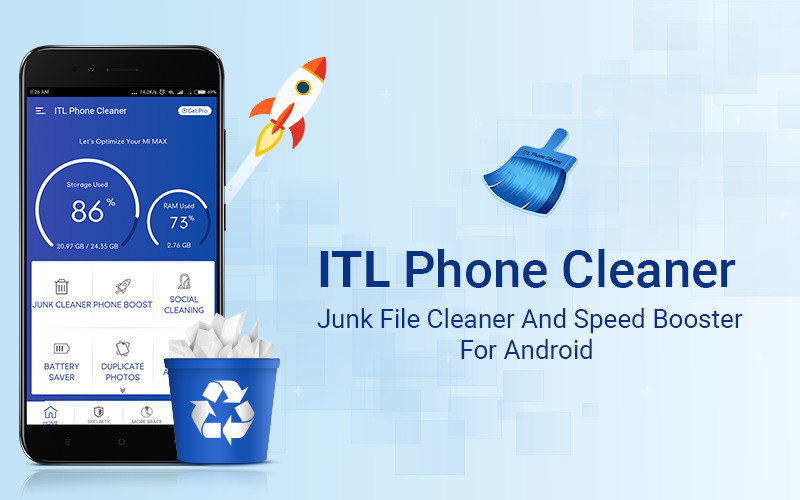 Оффер ITL Phone Cleaner (Android) - Speed Enhancement and Cleaner с оплатой за Install