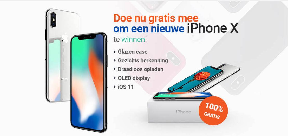Оффер iPhone X с оплатой за Sign up