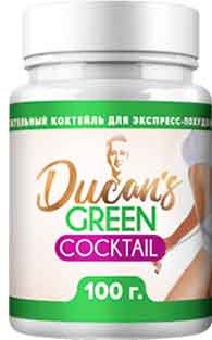 Оффер Green Dukan Cocktail с оплатой за Confirmed order