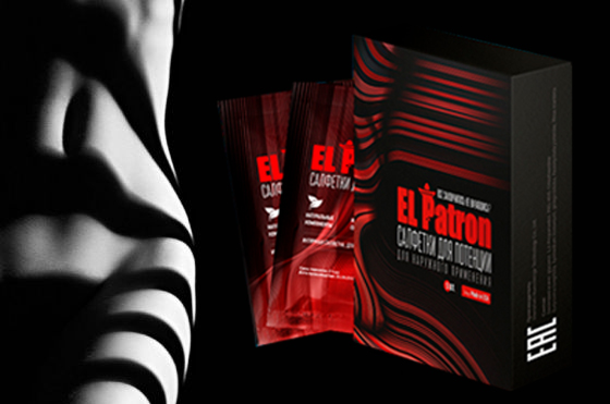 El Patron - napkins for potency