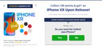 Оффер iPhone Xr с оплатой за Регистрация
