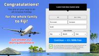 Оффер Trip to Fiji с оплатой за Sign up