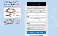 Оффер Pandora  Sweepstake с оплатой за Sign up